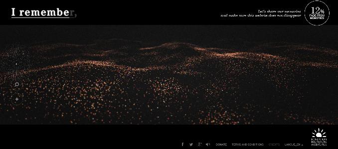 HTML5 3D Webgl Demo Memory